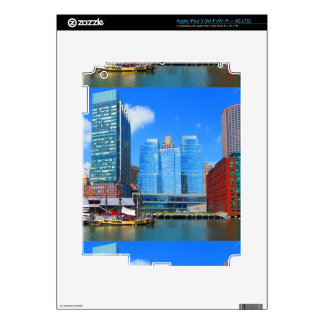 Urban Landscape n Lake Views from Boston City USA iPad 3 Decals