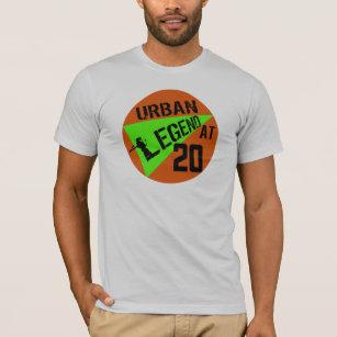 Urban Legend 20th Birthday Gifts T Shirt
