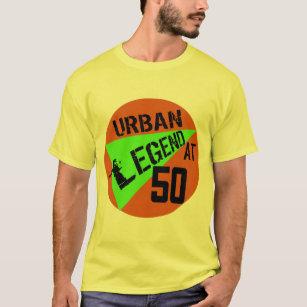 Urban Legend 50th Birthday Gifts T Shirt