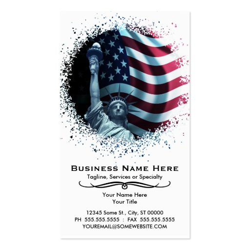 urban liberty Double-Sided standard business cards (Pack of 100)