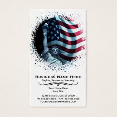 Urban Liberty Business Card at Zazzle