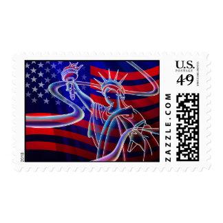 Urban Liberty Postage Stamp