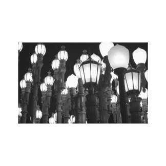 Urban Light Canvas Print
