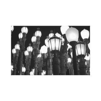 Urban Light Canvas Print