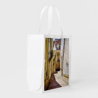 URBAN LISBON STREET (CASTELO) Reusable Bag