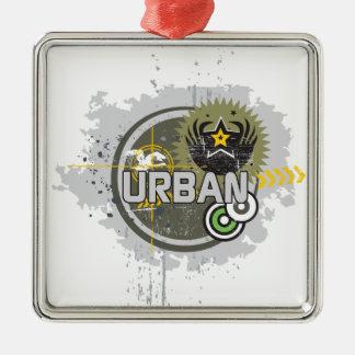 urban metal ornament