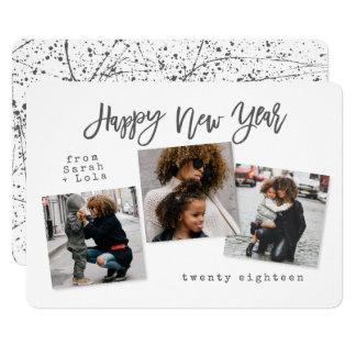 URBAN MODERN HAPPY NEW YEAR CARD