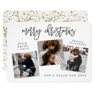 URBAN MODERN MERRY CHRISTMAS CARD