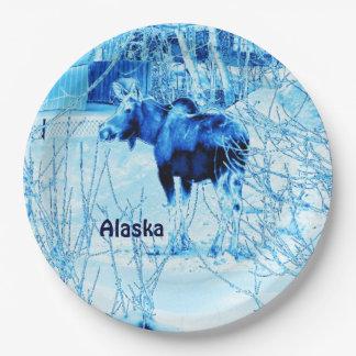 Urban Moose Paper Plate