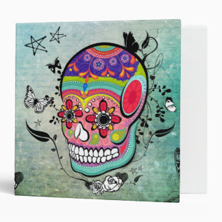 Urban Muerte Day of the Dead Illustrated Binder