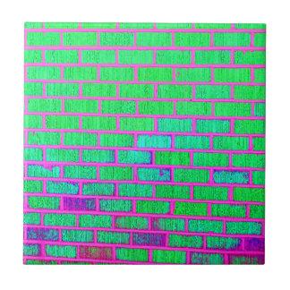 Urban Neon Brick Wall Tile