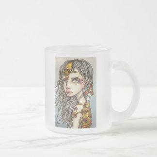 Urban Ninja Frosted Glass Coffee Mug