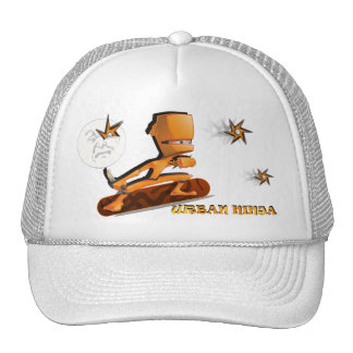 Urban Ninja Trucker Hats