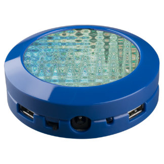 Urban Oasis Blue ChargeHub™ by Artist C.L. Brown USB Charging Station