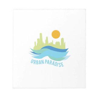 Urban Paradise Memo Notepads