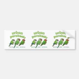 Urban Parakeets Bumper Sticker
