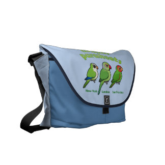 Urban Parakeets Messenger Bag