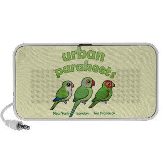 Urban Parakeets Mp3 Speakers