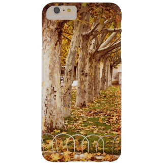 Urban park in autumn barely there iPhone 6 plus case