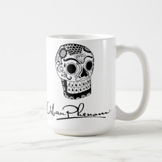 Urban Phenom Day of the Dead Skull Coffee Mug