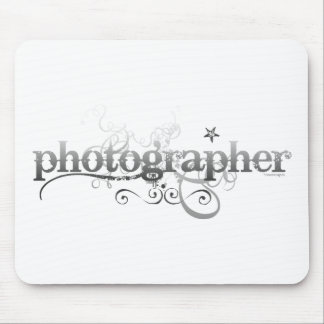 Urban Photographer Mouse Pad