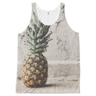 Urban Pineapple All-Over-Print Tank Top