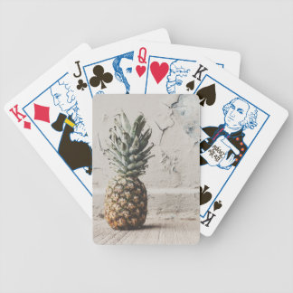 Urban Pineapple Bicycle Playing Cards