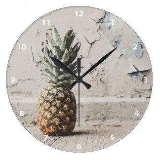 Urban Pineapple Large Clock