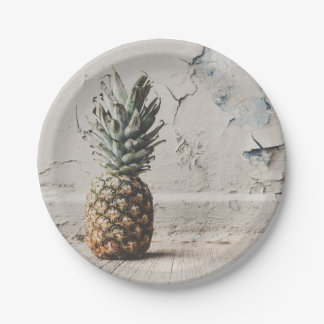 Urban Pineapple Paper Plate