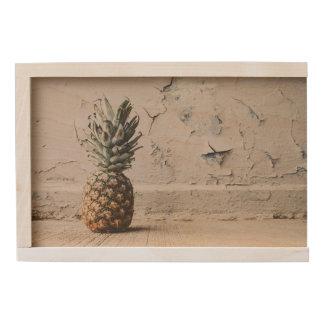 Urban Pineapple Wooden Keepsake Box