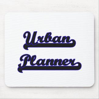Urban Planner Classic Job Design Mouse Pad