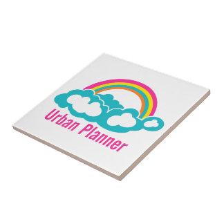 Urban Planner Rainbow Cloud Tile