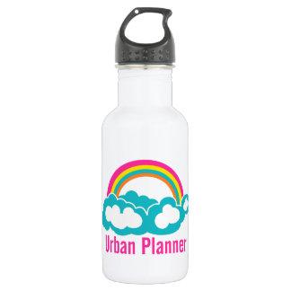 Urban Planner Rainbow Cloud Water Bottle
