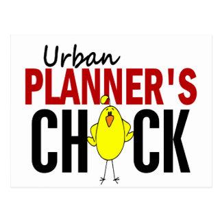 Urban Planner's Chick Postcard
