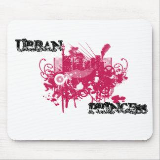 urban princess | mouse-pad mouse pad