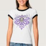 Urban Purple Swords Fencing Mask Women's T-Shirts