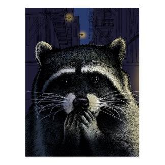 Urban raider postcard