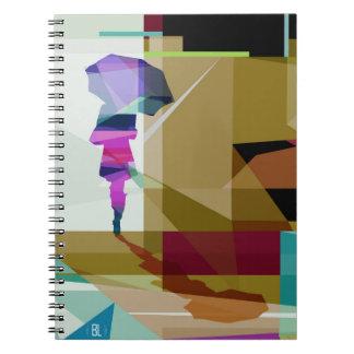 Urban rain notebook