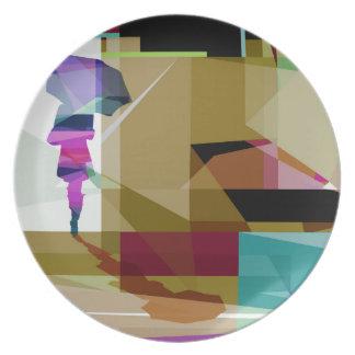 Urban rain plate