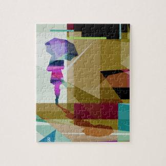 Urban rain puzzle