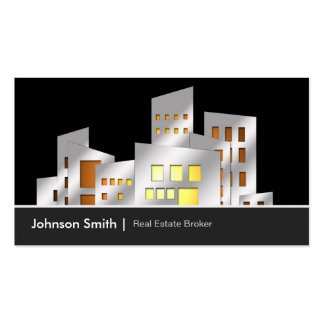 Urban Real Estate Broker Agency Agent Dealer Business Card