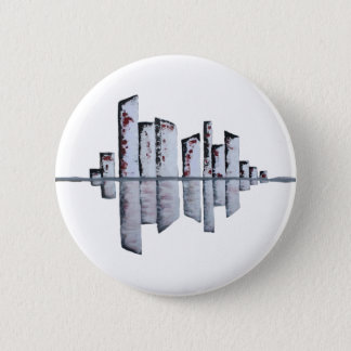 Urban Reflection Pinback Button