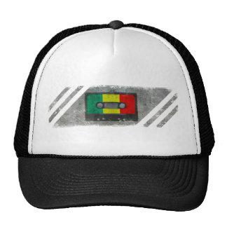 Urban reggae cassette trucker hat