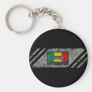 Urban reggae cassette keychains