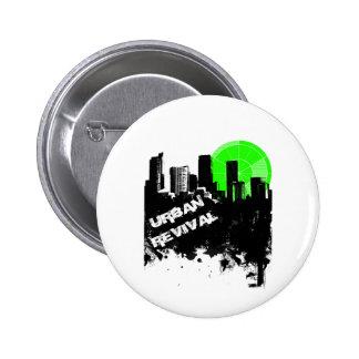 Urban Revival Pinback Button