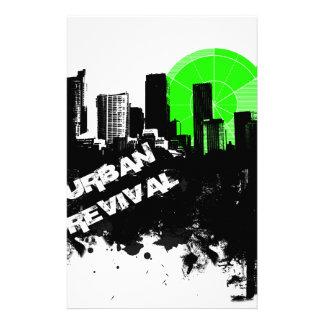 Urban Revival Stationery