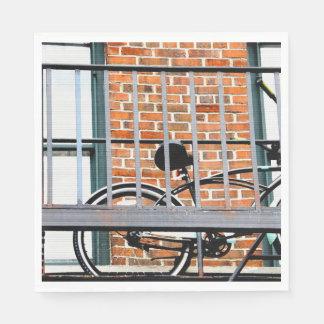 Urban Rider Paper Napkin