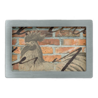 Urban Rooster Belt Buckle