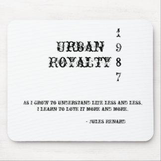Urban, Royalty, 1987, como vengo entiende l… Mousepad