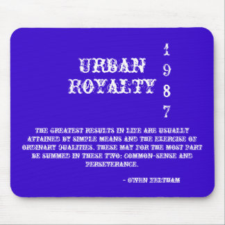 Urban, Royalty, 1987, The greatest results in l... Mouse Pad